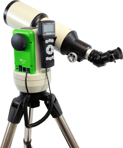 iOptron Cube-E R80 - 80mm GoTo Refractor Telescope - Green - 8502G for $387.76 at Khan Scope Centre