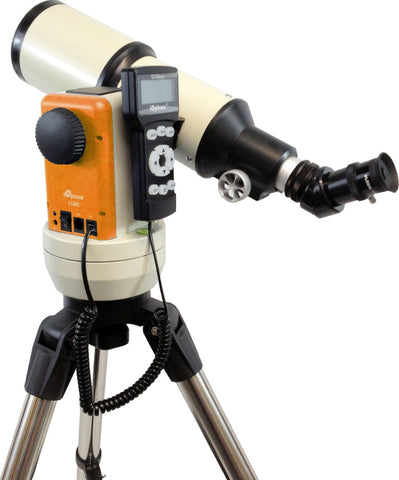 iOptron Cube-E R80 - 80mm GoTo Refractor Telescope - Orange - 8502R for $387.76 at Khan Scope Centre