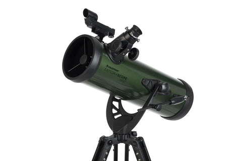 Celestron ExploraScope 114AZ Reflector Telescope - 22103 for <span class=money>$202.43 CAD</span> at Khan Scope Centre
