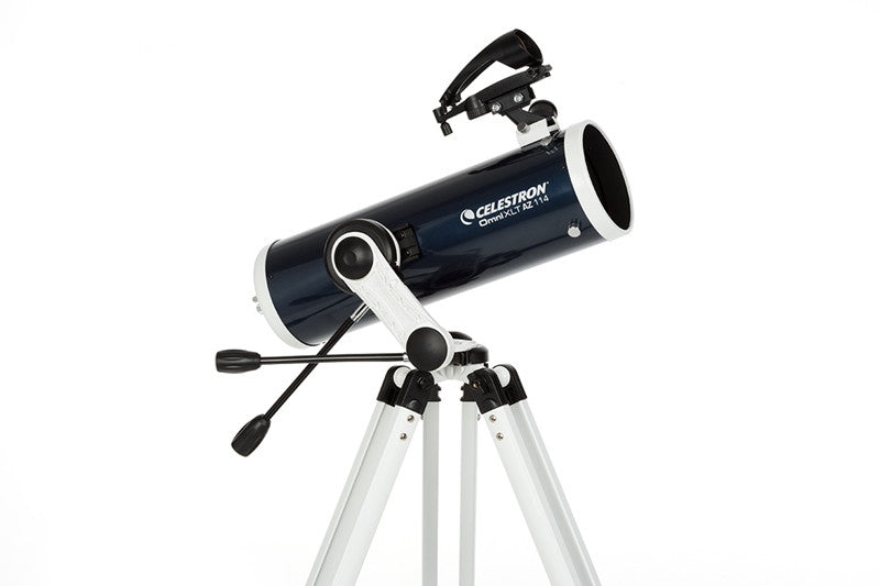 Celestron Omni XLT AZ Telescope - Choose from 102mm, 114mm, or 130mm for <span class=money>$322.00 CAD</span> at Khan Scope Centre