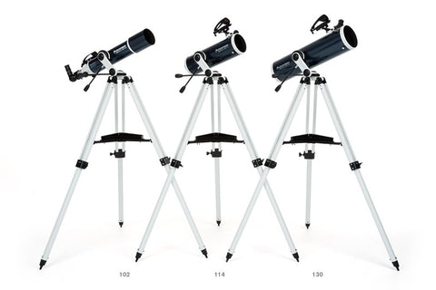Celestron Omni XLT AZ Telescope - Choose from 102mm, 114mm, or 130mm for $322.00 at Khan Scope Centre