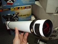 Lunt Solar 35mm <0.7A H-Alpha Deluxe Solar Telescope - LS-35THADX for $899.00 at Khan Scope Centre