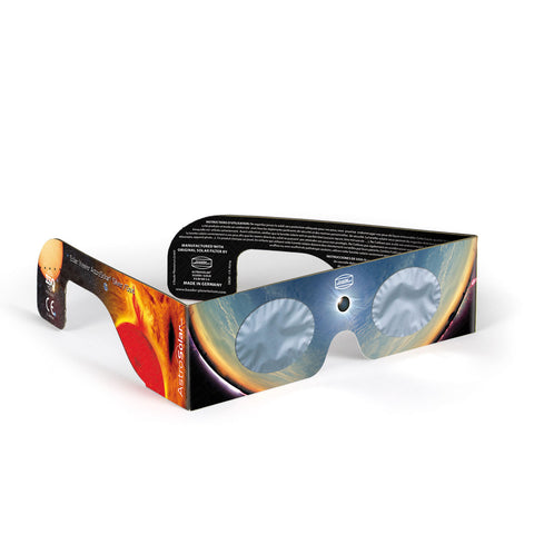 Baader AstroSolar Silver/Gold Solar Glasses (Made in Germany) -Set of 4 pairs included.