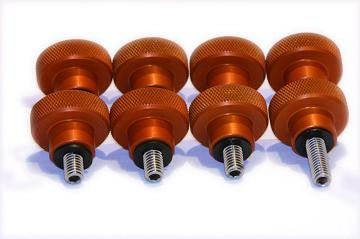 ADM Celestron CGE Upgrade - Tripod Knobs - Orange - CGE-TKS-OR