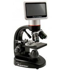 Celestron PentaView LCD Digital Microscope with FREE Mini Handheld Microscope - 44348