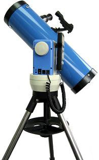 iOptron Cube-E N114 - 114mm Newtonian Reflector GoTo Telescope - Astro Blue - 8503B for $468.98 at Khan Scope Centre