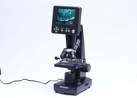 "Bresser 50x - 500x LCD Microscope with 3.5"" Viewing Screen - 5201000 for <span class=money>$308.00 CAD</span> at Khan Scope Centre"