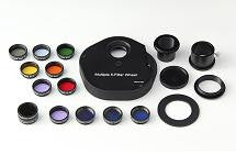 "Sky-Watcher 12 Pc. Narrowband / Color Filter Set & Filter Wheel - 1.25"" Round Mounted - BD021 for $323.00 at Khan Scope Centre"