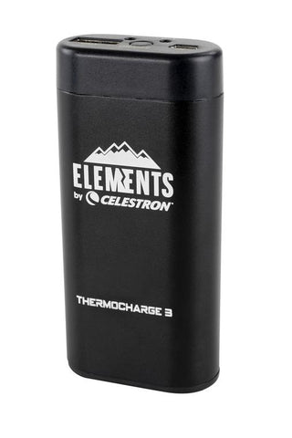 Celestron Elements ThermoCharge 3 Hand Warmer / Charger - 48029