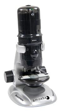 Celestron Amoeba Dual Purpose Digital Microscope - Gray - 44326 for <span class=money>$163.44 CAD</span> at Khan Scope Centre