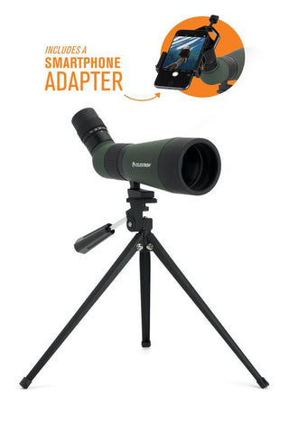 Celestron 12-36x 60 mm LandScout Spotting Scope with Smartphone Adapter - 52422