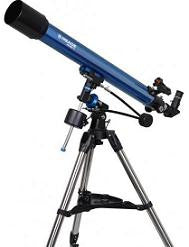 Meade Polaris 70mm German Equatorial Refractor - 216001 for <span class=money>$199.00 CAD</span> at Khan Scope Centre