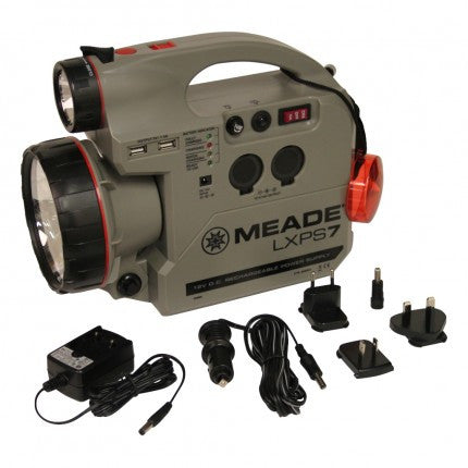 Meade LXPS 7 Power Supply - 606001 for $89.95 at Khan Scope Centre