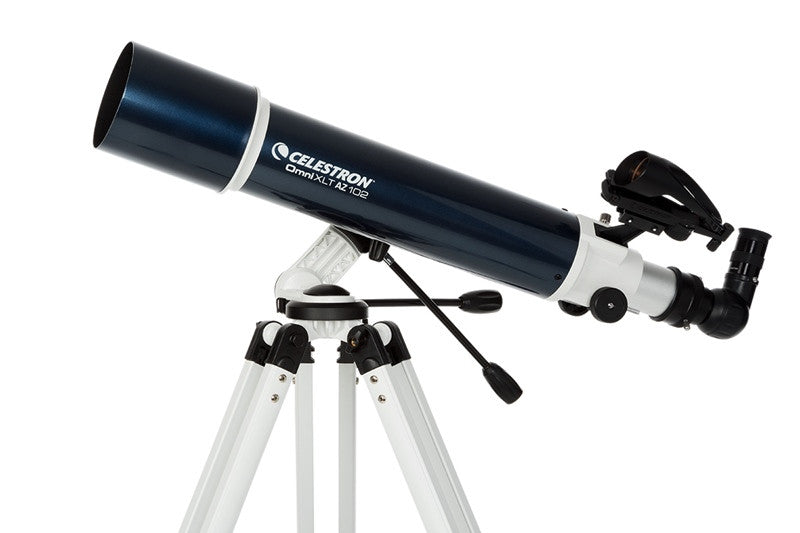 Celestron Omni XLT AZ Telescope - Choose from 102mm, 114mm, or 130mm for <span class=money>$355.00 CAD</span> at Khan Scope Centre