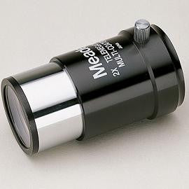"Meade Series 4000 #126 2X Short-Focus Barlow Lens - 1.25"" - 07273 for $53.60 at Khan Scope Centre"