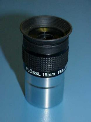 "15mm Plossl Eyepiece - 1.25"" for $54.00 at Khan Scope Centre"