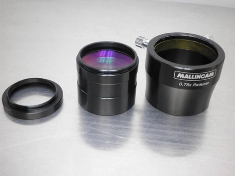 0.75X Focal Reducer w/ T-Mount Adapter for RC Optics - 2""