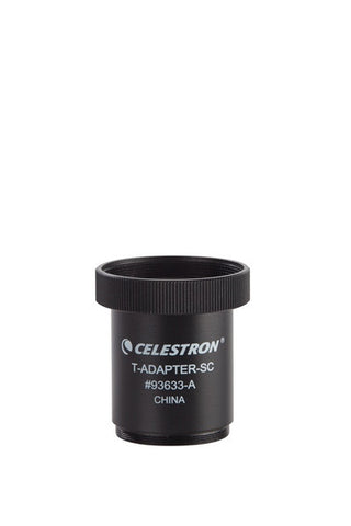 Celestron T-Adapter SCT 5 Through SCT 14 - 93633-A for <span class=money>$33.68 CAD</span> at Khan Scope Centre