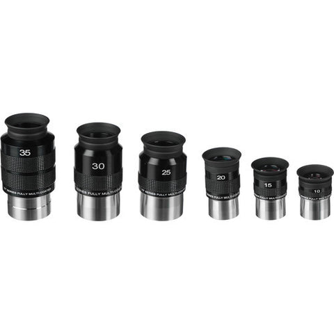 Bresser 70°-Series 6-piece Eyepiece Set (EP70SET-00) for $386.00 at Khan Scope Centre