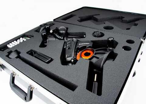JMI Carrying Case for Celestron AVX Mount - Wheels and Handle - CASEAVX-D