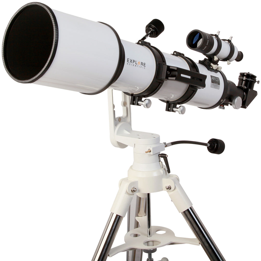 Explore Scientific AR127 127mm Achromatic Refractor Telescope with Twilight I Mount - DAR127065-MAZ-01 for $1005.00 at Khan Scope Centre