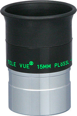"Tele Vue 15mm Plossl Eyepiece - 1.25"" - EAP-15.0 for $127.87 at Khan Scope Centre"