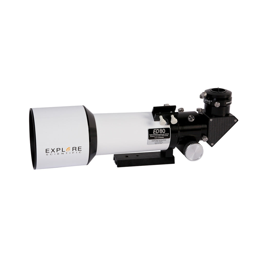 Explore Scientific 80mm f/6 Essential Apochromatic Triplet Refractor Telescope with EXOS2GT Mount - ED0806-EXOS2GT for $1608.00 at Khan Scope Centre