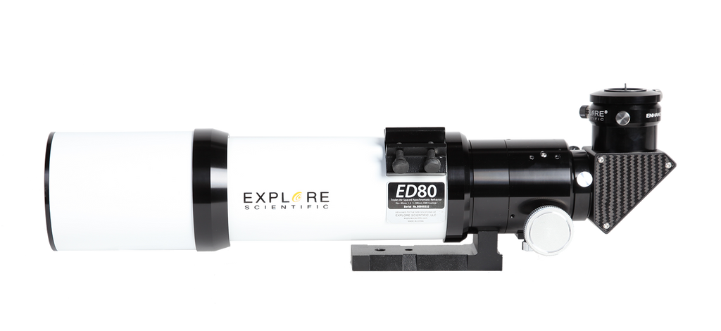 Explore Scientific 80mm f/6 ED Apochromatic Triplet Essential Refractor Telescope - ES-ED0806-01 for $938.00 at Khan Scope Centre