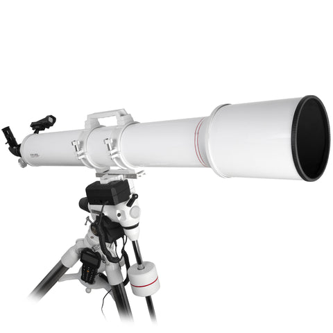 Explore Scientific  FirstLight AR127mm White Tube Refractor Telescope with FL-EXOS2GT GoTo Mount - FL-AR1271200EXOS2GT for $1309.99 at Khan Scope Centre