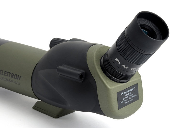 Celestron Ultima 65 - 45 Degree Zoom Spotting Scope - 52248 for $229.43 at Khan Scope Centre