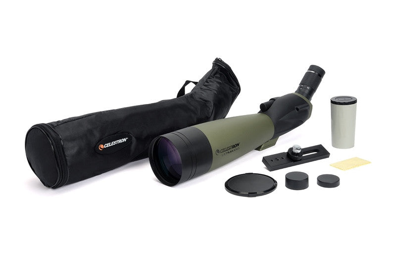 Celestron Ultima 100 - 45 Degree Zoom Spotting Scope - 52252 for $539.93 at Khan Scope Centre