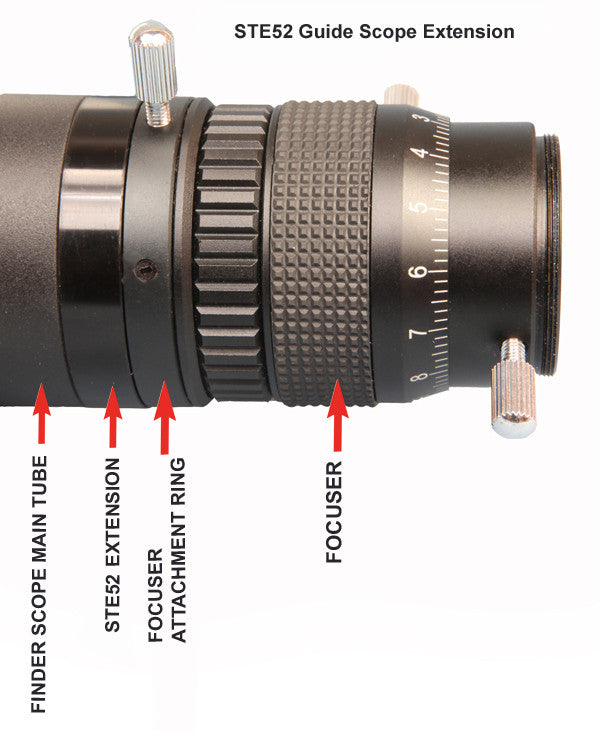 Stellarvue 50 mm Photographic GuideScope - F050G for $201.00 at Khan Scope Centre