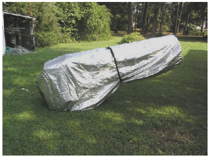 "TeleGizmos Truss Tube Dob Cover - 24""-25"" f/5 - Low Park - TG7D for <span class=money>$300.00 CAD</span> at Khan Scope Centre"