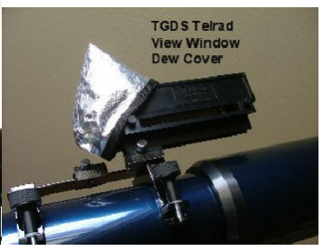TeleGizmos Telrad Dew Shield Cover - TGDS for <span class=money>$8.00 CAD</span> at Khan Scope Centre