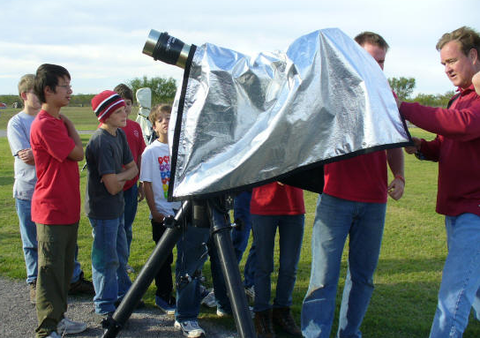 TeleGizmos Solar Observing Hood - TGSO for <span class=money>$75.00 CAD</span> at Khan Scope Centre