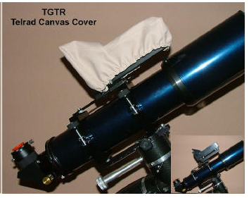TeleGizmos Telrad Canvas Protective Cover - TGTR for <span class=money>$15.00 CAD</span> at Khan Scope Centre