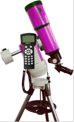 iOptron Cube-A R80 - 80mm GoTo Refractor Telescope - Pink - 8602P for $652.38 at Khan Scope Centre