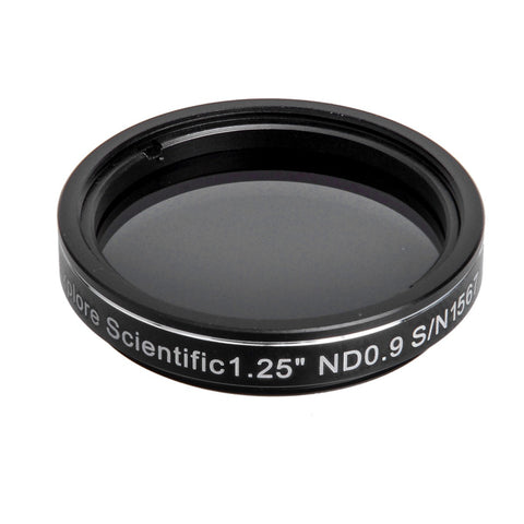 "Explore Scientific ND 0.9 Filter - 1.25""- 310245 for $40.00 at Khan Scope Centre"