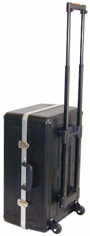 JMI Luggage-Style Case with Retractable Handle with Wheels - CASELHWUPG