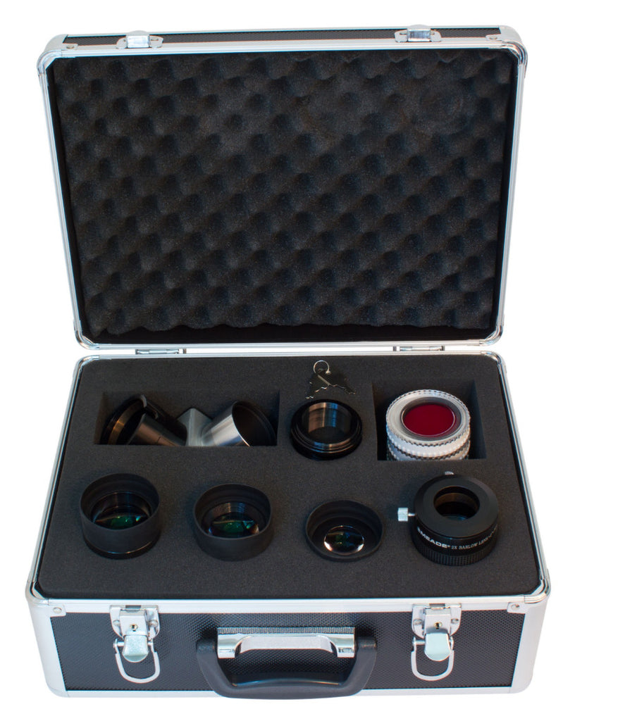 "Meade Series 4000 2"" Eyepieces, Barlow, and Filter Set - 607010 for $402.00 at Khan Scope Centre"