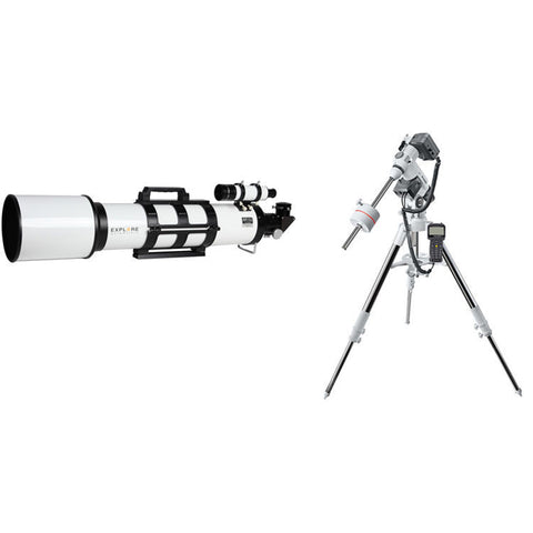 Explore Scientific AR152 152mm f/6.5 Achromatic Refractor Telescope with EXOS2-GT Mount - DAR152065-EXOS2GT for $1742.00 at Khan Scope Centre