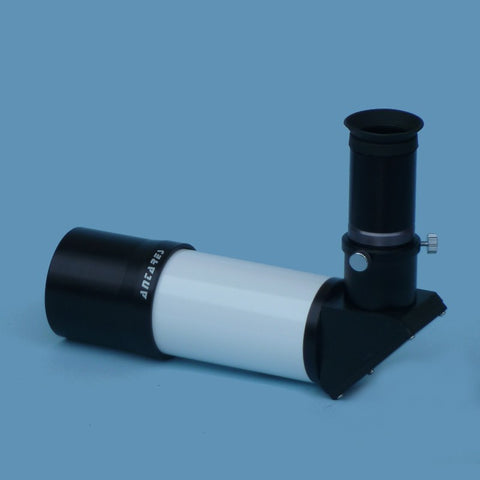 Antares Finderscope - 7x-50 mm - Reverted Image - Right Angle - White - 5121