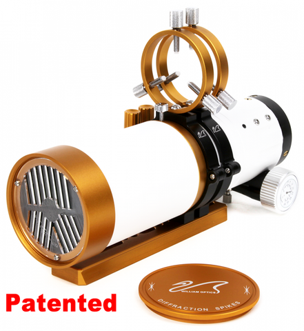 William Optics WO Star 71 II Limited Gold Edition Petzval Imaging Telescope - A-WO71-II