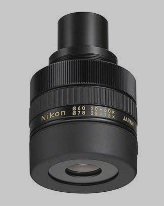 20-60x Wide Zoom Eyepiece for Nikon Fieldscope for $450.00 at Khan Scope Centre