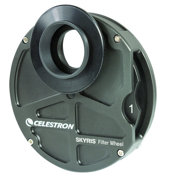"Celestron Skyris 5-Position 1.25"" Filter Wheel - 95520 for <span class=money>$162.00 CAD</span> at Khan Scope Centre"