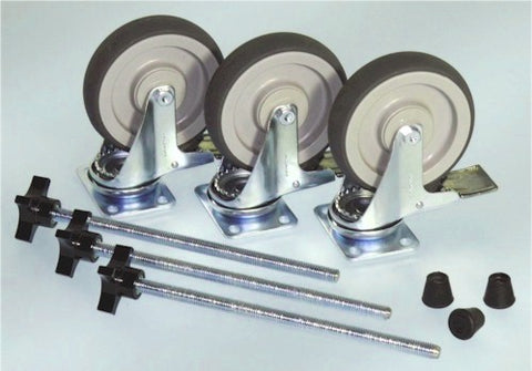 "JMI 5"" Large Wheels for Universal-Style Wheeley Bars - TPWLW"