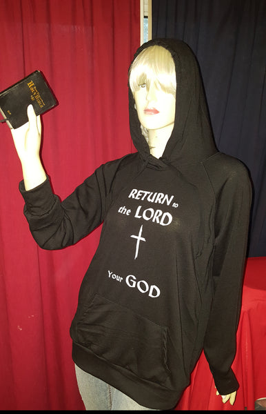 Return to the LORD Hoodie - Womens XL
