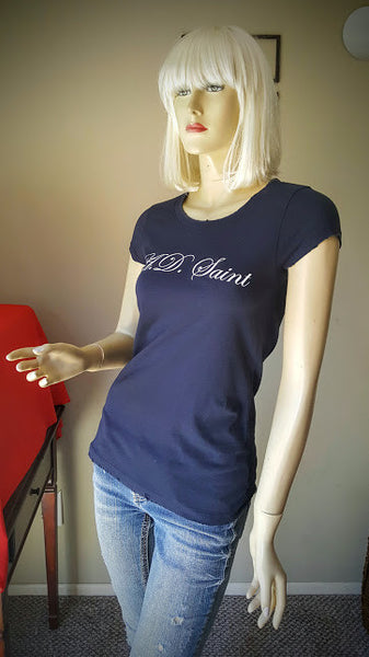 A.D. Saint Vintage Ladies Navy