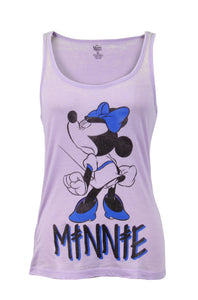 WOMEN Disney Angry Minnie Mouse Tank Top
