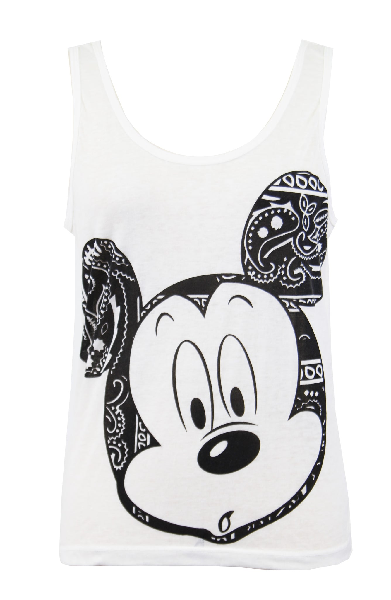 614387b1e236f WOMEN Disney Mickey Mouse Graphic Print Tank Top – Once Upon A Time ...